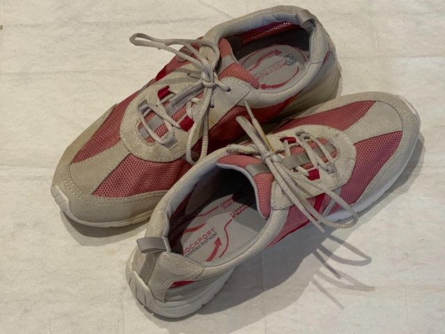 Image 13 of WOMENS ROCKPORT FAYETTE WASHABLE TRAINERS UK5/37.RRP£70