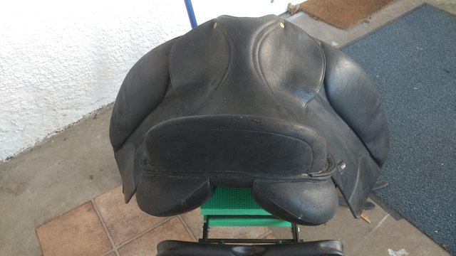 """Preview of the first image of Wintec Isabel 17"""" dressage saddle.."""