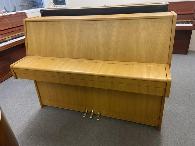 Image 2 of Lighter coloured Hermann Mayr piano in excellent condition