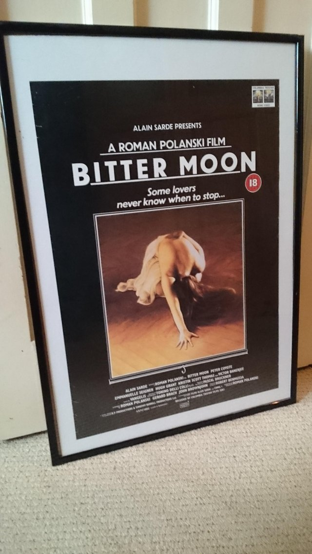 Preview of the first image of Framed Original roman polanski film poster.