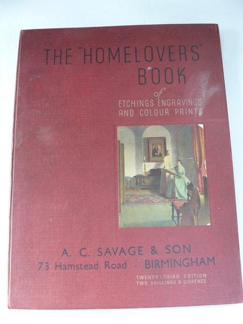 Preview of the first image of 1938 THE HOMELOVERS BOOK: engravings/prints: 23rd edn.