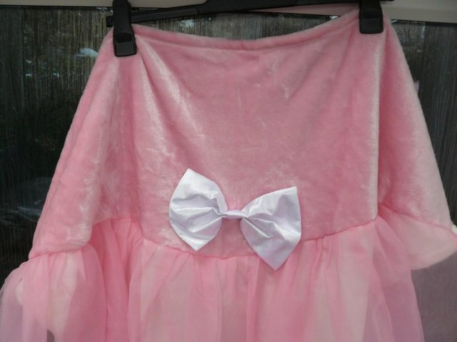 Image 10 of Cuddly Buddies pink & cream Soft Cosy Ballerina Footie Throw