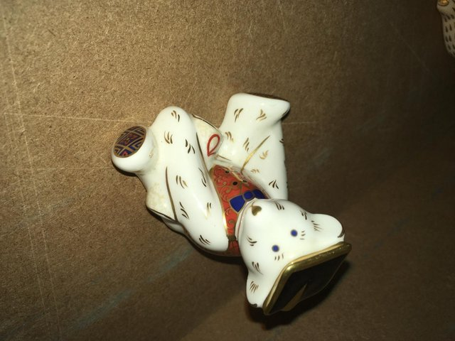 Image 2 of Royal Crown Derby Graduate Bear Paperweight
