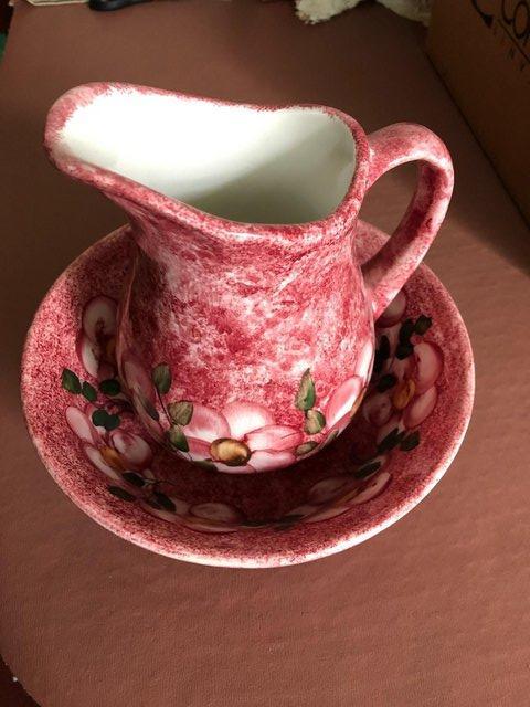 Image 2 of China Jug & Bowl