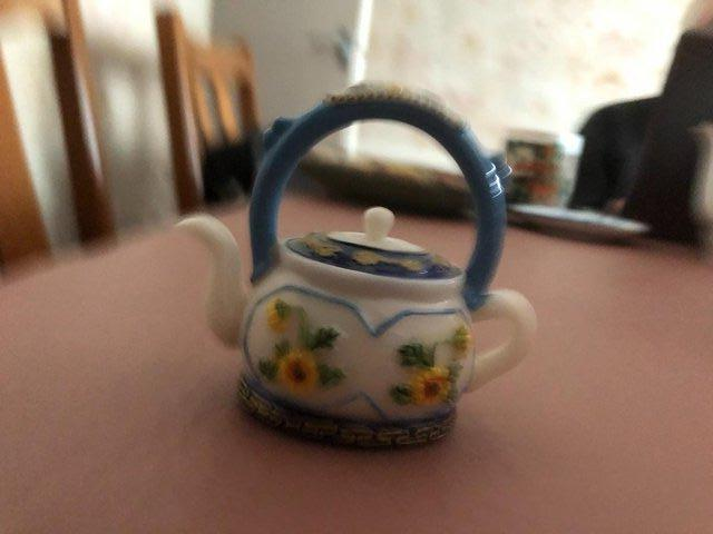 Image 2 of 5 Small Decorative Teapots