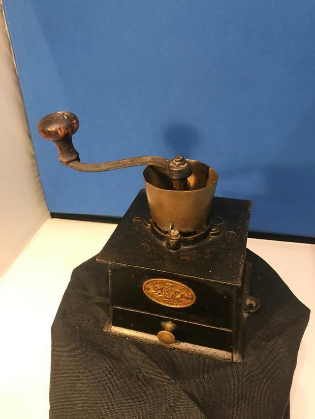 Preview of the first image of Two old Coffee Grinders (separate or set).
