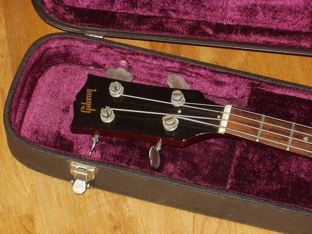 Image 2 of Gibson EB 0 Bass Guitar & Case
