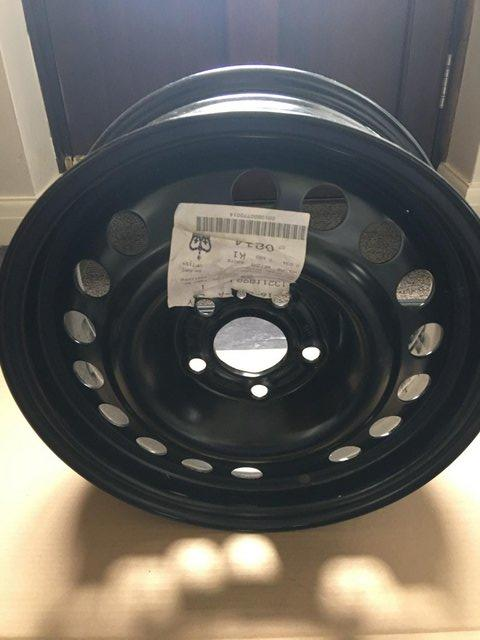 Preview of the first image of Vauxhall Corsa D 07-14 Model - Steel Wheel - BRAND NEW.