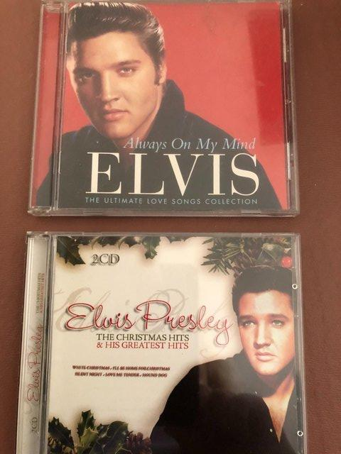 Preview of the first image of Elvis Presley 2 CDs.