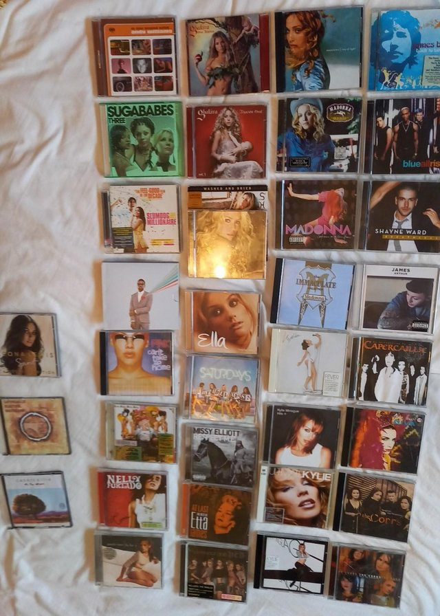 Image 2 of Job lot mix of 34 CDs eclectic mix various artists some new
