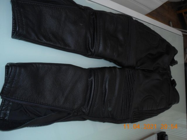 Image 3 of Leather trousers