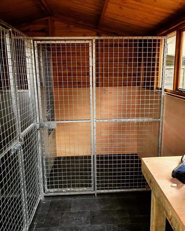 Image 28 of Top quality steel fabricated kennels/catteries/cages/runs