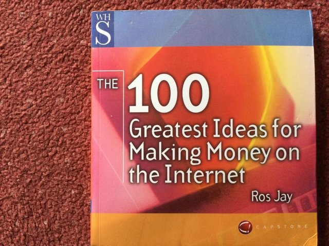 Preview of the first image of The 100 Greatest Ideas for Making Money on the Internet.