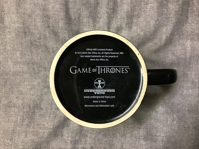 "Preview of the first image of GAME OF THRONES ""KHAL"" MUG."
