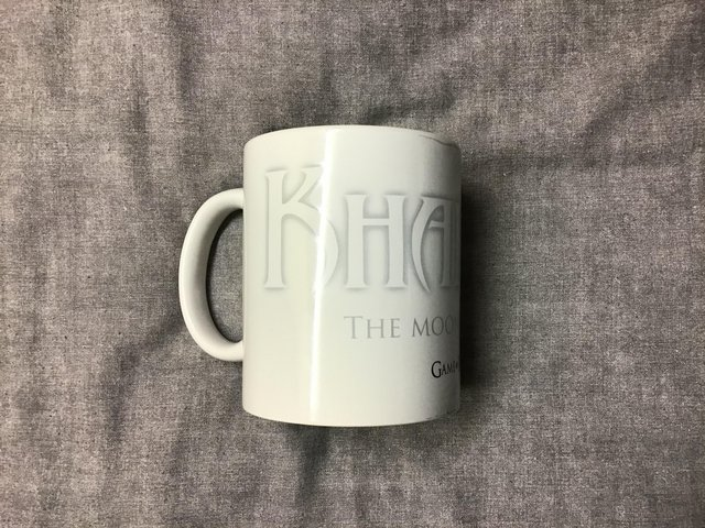 """Preview of the first image of GAME OF THRONES """"KHALEESI """" MUG."""