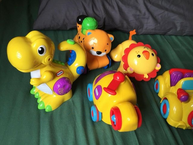 Preview of the first image of Baby Toy Bundle little Tikes Fisher Price.