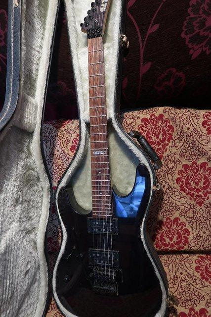 Preview of the first image of Left Handed ESP Ltd M100FM.