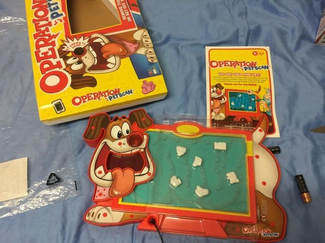 Image 2 of Operation Pet Scan Board Game from Hasbro Gaming - 2+ Player
