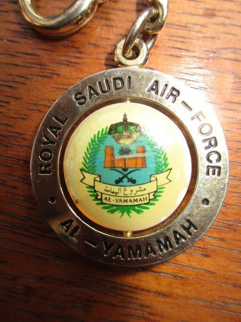 Preview of the first image of Royal Saudi Air Force key ring..