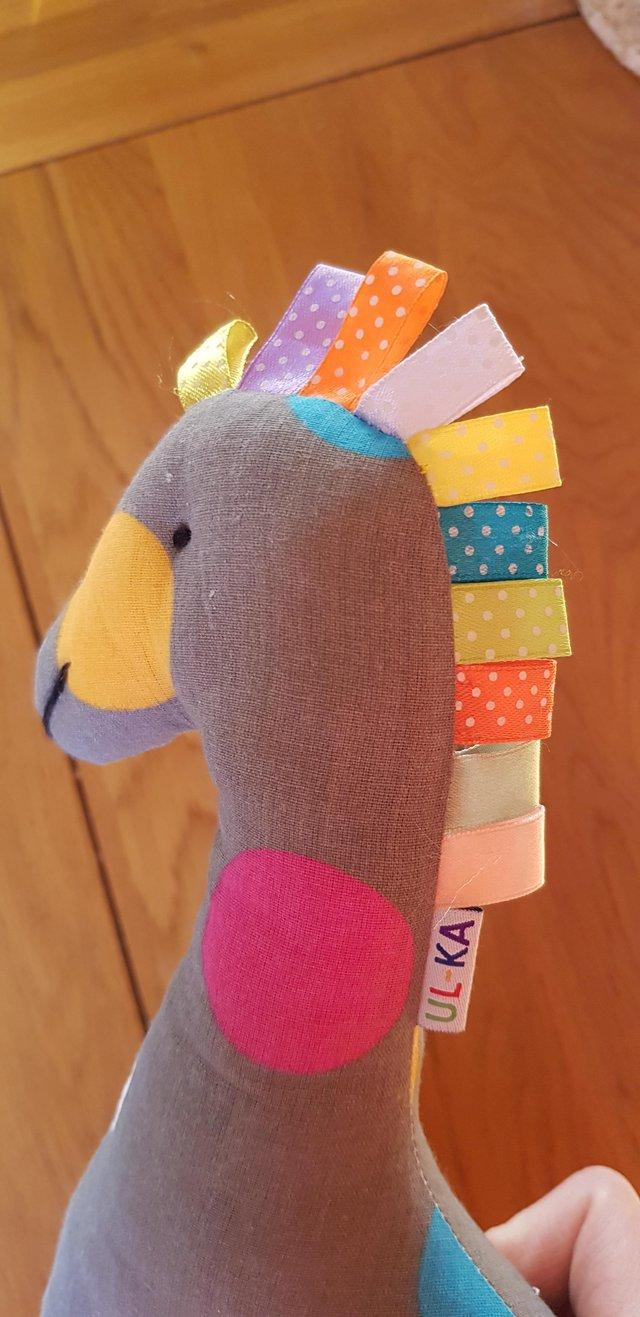 Preview of the first image of Stuffed giraffe.