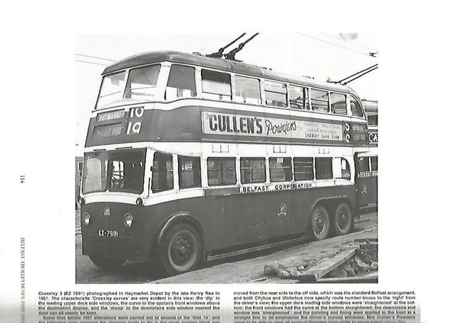 Image 2 of BELFAST TROLLEYBUSES 1938 - 1968