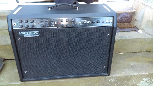Image 3 of MESA BOOGIE NOMAD 45 2 x 12 COMBO, ALL VALVE, ORIGINAL COVER