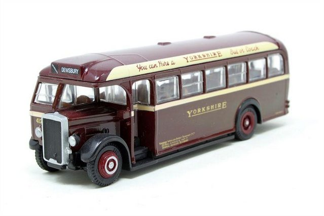 Preview of the first image of SCALE MODEL BUS: 1930s YORKSHIRE WOOLLEN LEYLAND TS8.