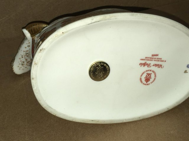 Image 3 of Royal Crown Derby Water Buffallo Paperweight