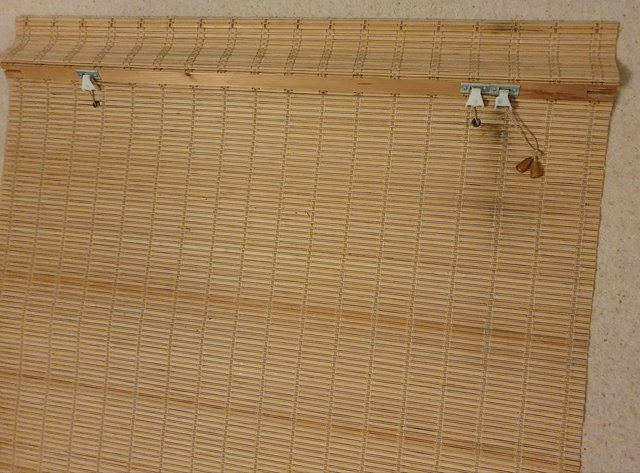 Image 2 of Roman blind in bamboo