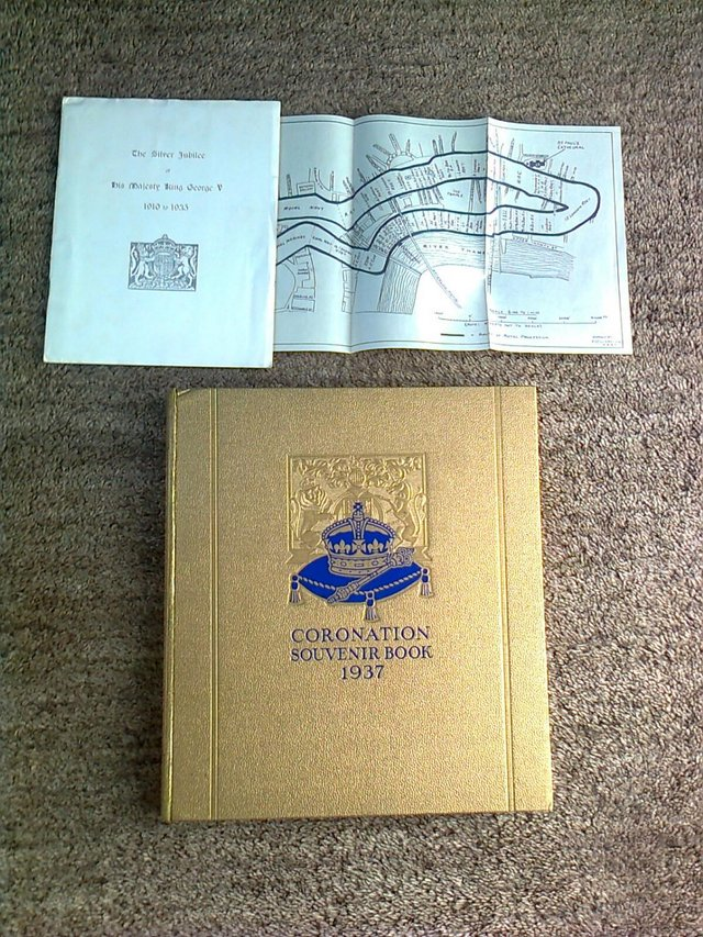 Preview of the first image of Book, Coronation Souvenir Book 1937, King Edward Reign with.