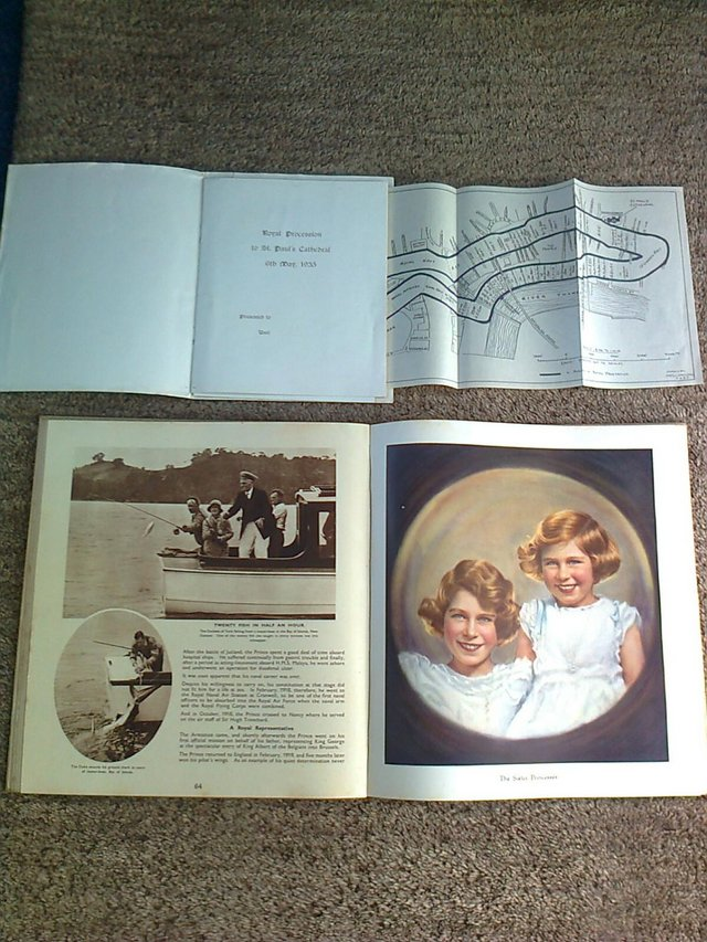 Image 2 of Book, Coronation Souvenir Book 1937, King Edward Reign with