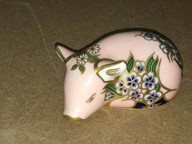 Image 2 of 2 x Royal Crown Derby Sinclairs Piglets