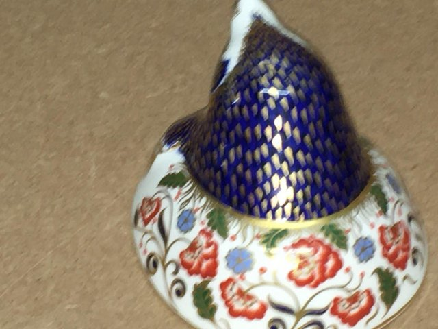 Image 3 of Royal Crown Derby Mole Paperweight