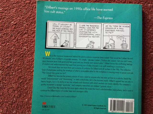 Image 2 of Casual Day Has Gone Too Far: A Dilbert Book