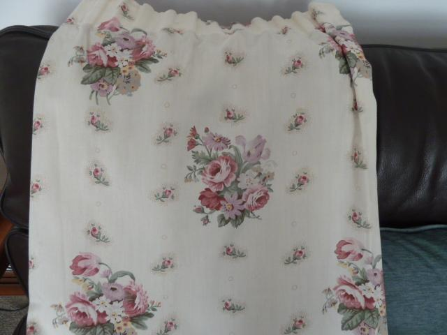 Preview of the first image of One pair Debenhams curtains plus linings.