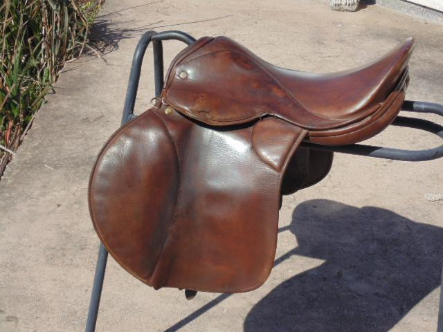 Preview of the first image of P+P £8  16.5'' x 10'' D -D Saddle by Invincible.