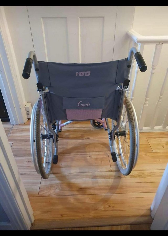 Image 3 of I-Go Candi Self Propelled Wheelchair