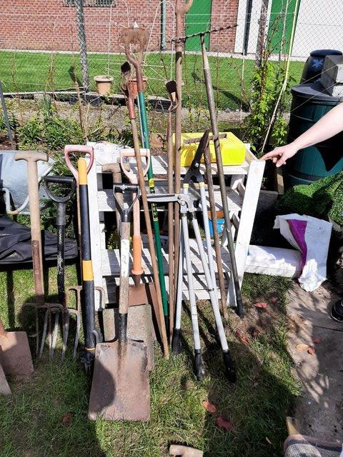 Preview of the first image of Various Garden Tools.