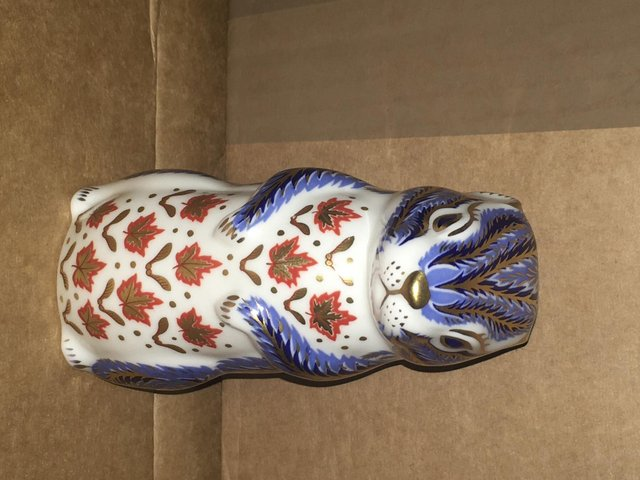 Image 3 of Royal Crown Derby Chipmunk Paperweight
