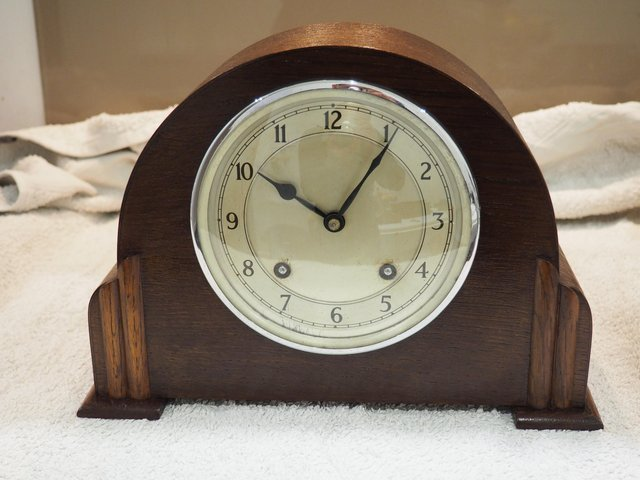 Preview of the first image of Garrard mantel clock.