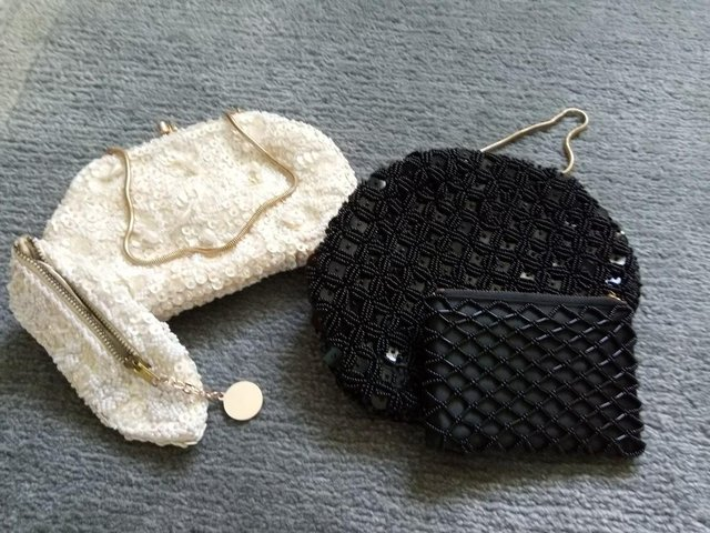 Preview of the first image of vintage evening bags x 2.