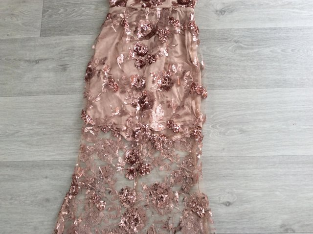 Preview of the first image of Ladies size 4 SPECIAL Occasion DRESS.