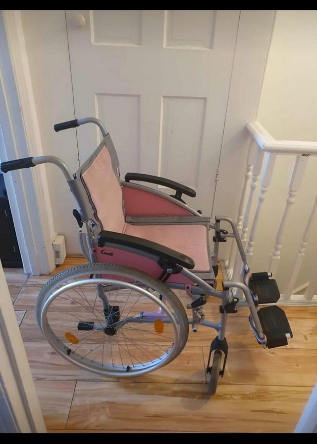 Image 4 of I-Go Candi Self Propelled Wheelchair