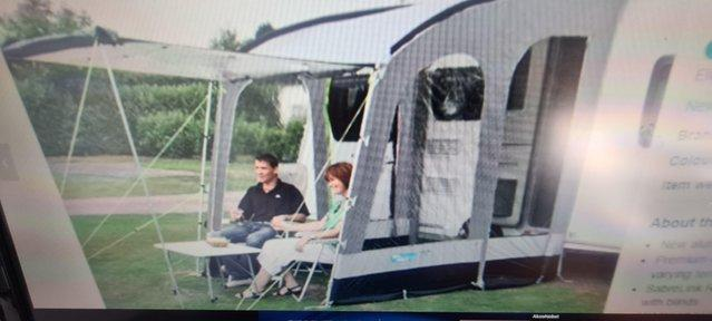 Preview of the first image of Kampa 200 Porch awning.