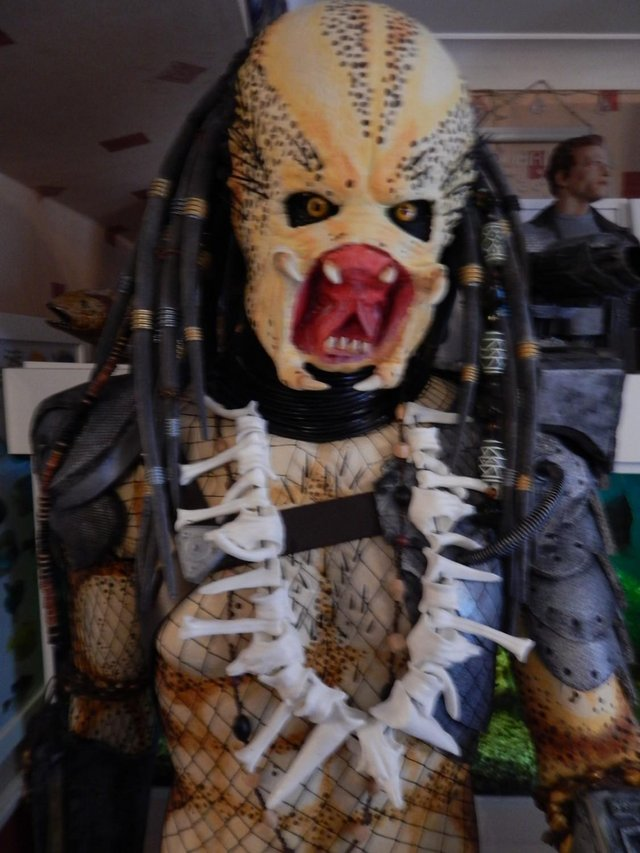 Image 3 of 6ft 7inc predator figure fan made