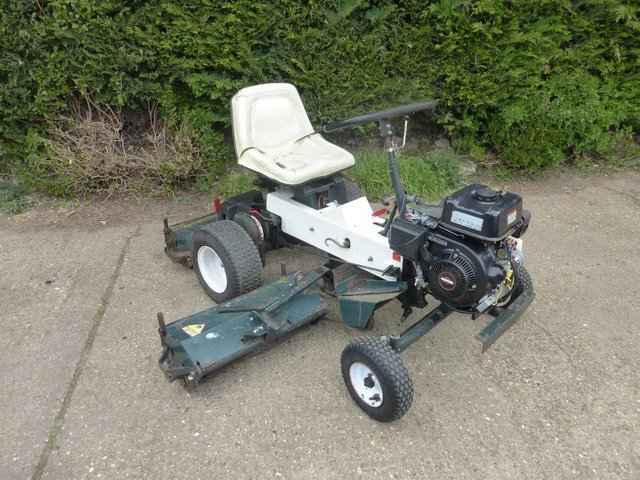 Preview of the first image of Allen National 68 Ride on Triple Cylinder Mower.