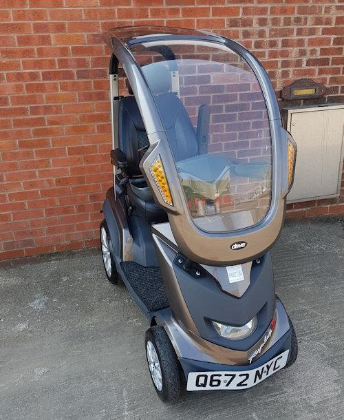 Image 4 of 2017  Royale Sport Mobility Scooter with solid canopy