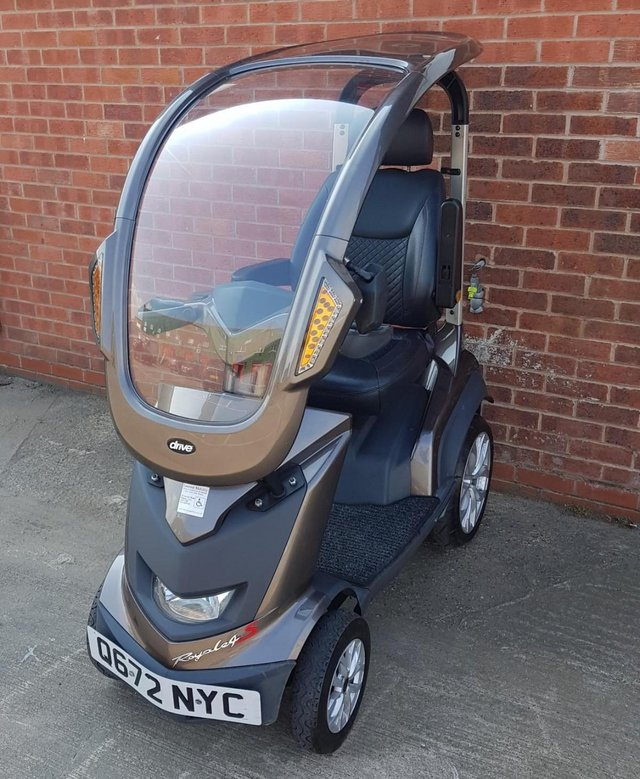Image 5 of 2017  Royale Sport Mobility Scooter with solid canopy