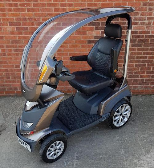 Image 8 of 2017  Royale Sport Mobility Scooter with solid canopy