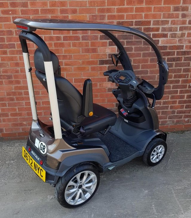 Image 9 of 2017  Royale Sport Mobility Scooter with solid canopy